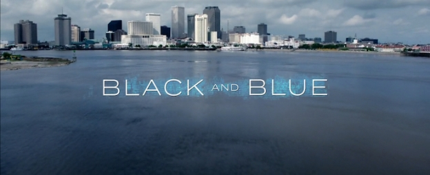 Black And Blue title screen