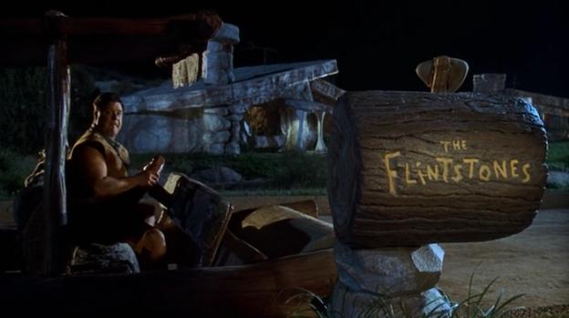 The Flintstones title screen