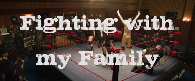 Fighting With My Family title screen
