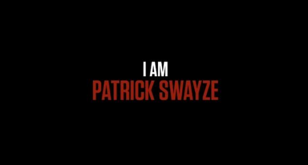 I Am Patrick Swayze title screen