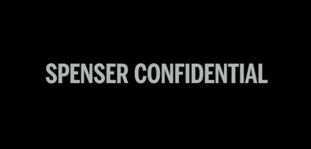 Spenser Confidential title screen
