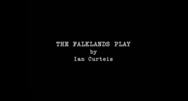 The Falklands Play title screen