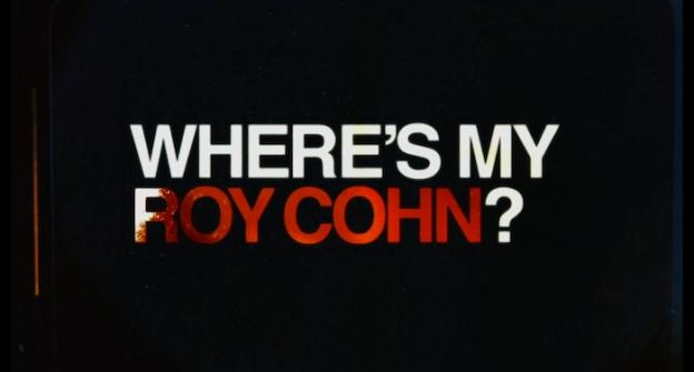 Where's My Roy Cohn? title screen