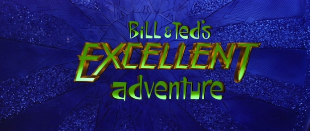 Bill & Ted's Excellent Adventure title screen