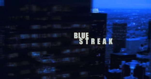 Blue Streak title screen