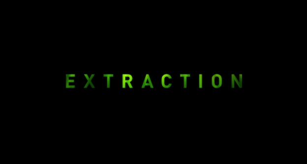 Extraction (2020) title screen