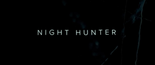Night Hunter title screen