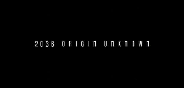 2036 Origin Unknown title screen