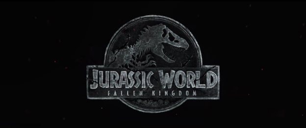 Jurassic World: Fallen Kingdom title screen