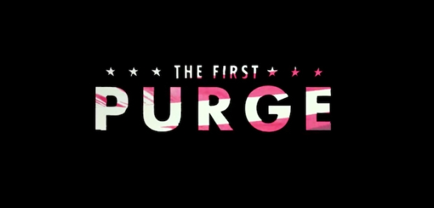 The First Purge title screen