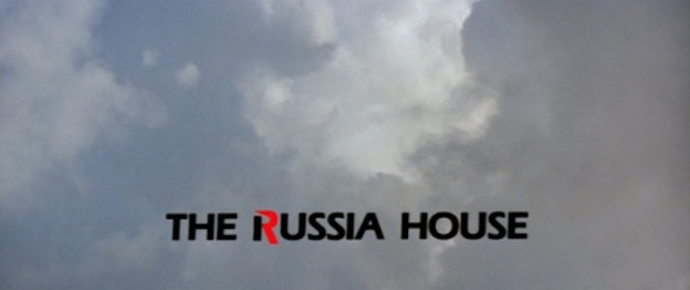 The Russia House title screen